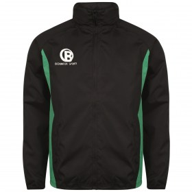 BlackGreenTrackTop